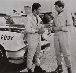 Frankie Avalon & Fabian in Fireball 500