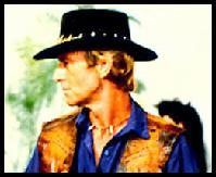 Paul Hogan is Crocodile Dundee