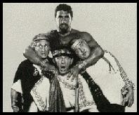 Samson Burke & The Three Stooges