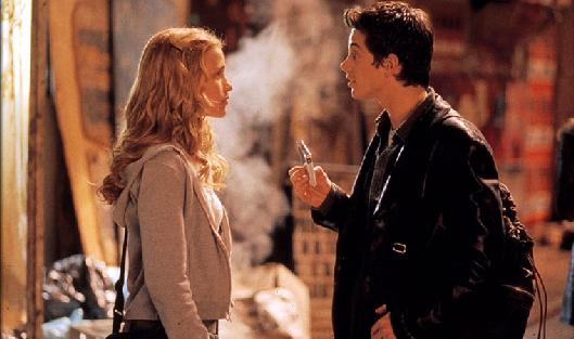 Garcia with Piper Perabo in Coyote Ugly