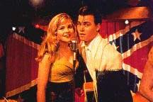 Depp & Amy Locane in Cry-Baby