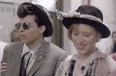 Molly & co-star Jon Cryer in Pretty In Pink