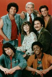 The cast of Welcome Back Kotter