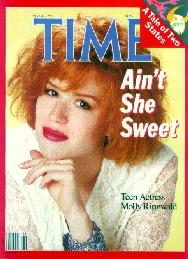 Molly on the cover of Time Magazine 1986
