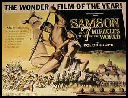 Samson & The 7 Miracles Lobby Card