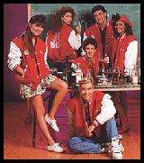 The cast of Saved By The Bell