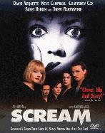 Scream DVD Poster