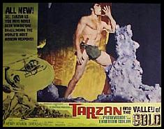 Tarzan and The Valley Of Gold Lobby